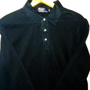 Polo by Ralph Lauren Long Sleeve Polo Navy Blue XL